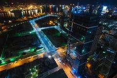 Vue de nuit de Kaohsiung photo libre de droits