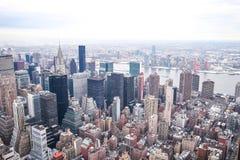 Vue de NYC Images libres de droits