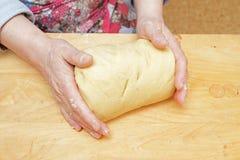Vue de pâte fonctionnante Photos stock
