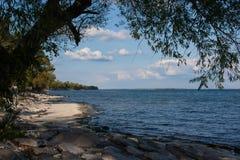 Vue de péninsule de point Images stock