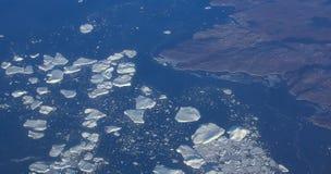 Vue de Pôle Nord Images stock