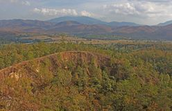 Vue de Pai Canyon en Thaïlande Image libre de droits