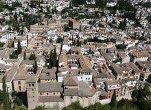 vue de palais d'alhambra Grenade Photographie stock libre de droits