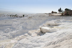 vue de pamukkale Photo stock
