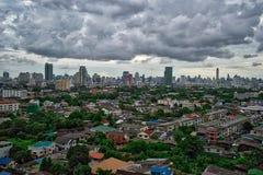 Vue de Panoaramic au centre de la ville de Bangkok photographie stock