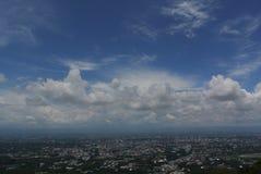 Vue de panorama de Chiangmai Thaïlande Photos libres de droits