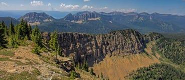 Vue de panorama de crête de Stahl Photo libre de droits