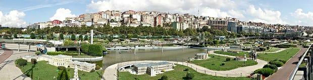 Vue de panorama de MinatureTurk Image libre de droits
