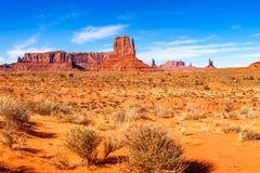 Vue de panorama de vallée de monument Photo libre de droits