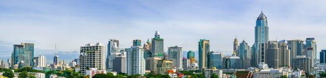 Vue de panorama de ville de Bangkok, Thaïlande Photos stock