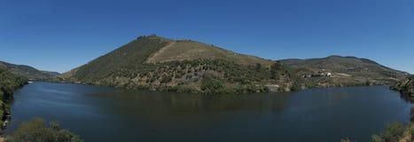 Vue de panorama de la rivière de Douro, Portugal image stock