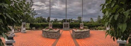 Vue de panorama de nouveau mémorial de vétéran de Hartford photos stock