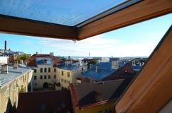 Vue de Panoramoc de Tallinn Photographie stock