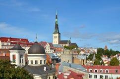 Vue de Panoramoc de Tallinn Images stock