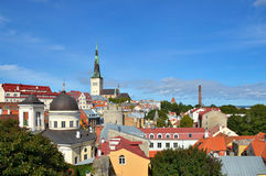 Vue de Panoramoc de Tallinn Photo libre de droits