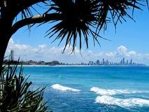 Vue 2 de paradis de surfers Photographie stock libre de droits