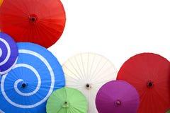 Vue de parapluie Photos libres de droits