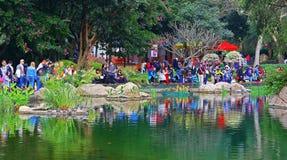 Vue de parc de Hong Kong Photographie stock