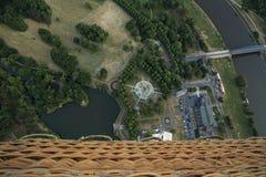 Vue de parc de Magdebourg Rotehorn Photos libres de droits