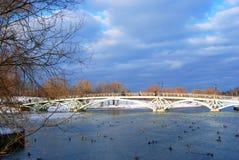 Vue de parc de Tsaritsyno à Moscou Images libres de droits