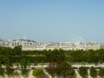 Vue de Paris Image stock