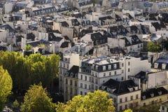 Vue de Paris Photographie stock libre de droits