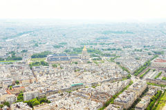 Vue de Paris de Tour Eiffel Photographie stock