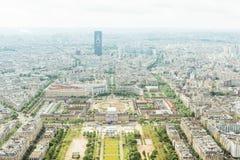 Vue de Paris de Tour Eiffel Photo libre de droits