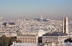Vue de Paris. La France Images stock