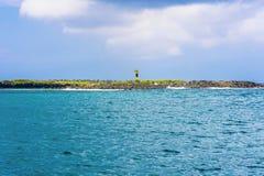 Vue de paysage à l'île d'Espanola dans Galapagos Image stock