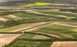 Vue de paysage agricole à Vienne Photos libres de droits