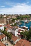 Vue de paysage d'Antalya Photo libre de droits
