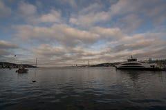 Vue de paysage d'Istanbul, Turquie images stock