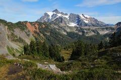 Vue de paysage de Baker de bâti Image stock