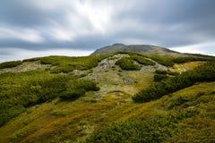 Vue de paysage de la montagne de Babia Image libre de droits