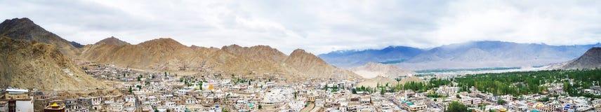 Vue de paysage de palais de Leh image stock