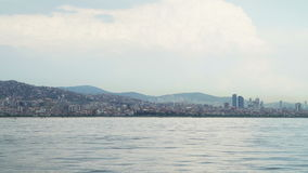 Vue de paysage et de Bosphorus d'Istanbul clips vidéos