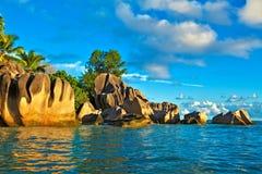 Vue de paysage marin Photographie stock