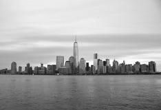 Vue de paysage urbain de Manhattan du centre, NYC Photos stock