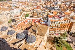 Vue de paysage urbain de Valence Image libre de droits