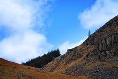 Vue de pente de montagne Image stock