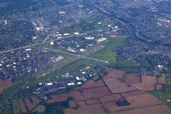 Vue de petits aéronefs de petit aéroport Image stock