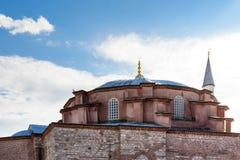 vue de peu de Hagia Sophia à Istanbul, Turquie photos stock
