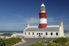 Vue de phare d'Agulhas Photo libre de droits
