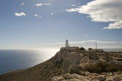 Vue de phare de MESA Roldan Images libres de droits