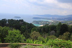 Vue de Phuket Photos stock