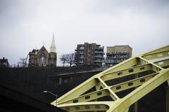 Vue de Pittsburgh du centre Images stock