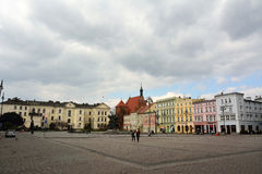 Vue de place de Stary Rynek dans Bydgoszcz, Pologne Photographie stock