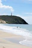 Vue de plage Image stock