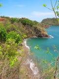 Vue de plage d'en haut Images stock